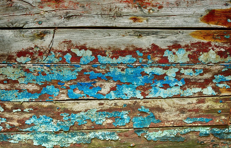 Фото обои стена, доски, краска