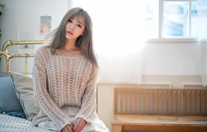 Фото обои девушка, модель, Girl, model, корея, Korea, Han Ga Eun