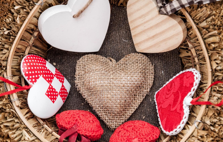 Фото обои love, romantic, hearts, valentine's day, gift, валентинки, сердцечки