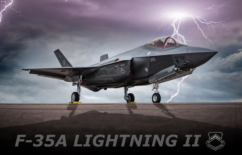 Обои истребитель, бомбардировщик, F-35, lightning ii. Авиация foto 15