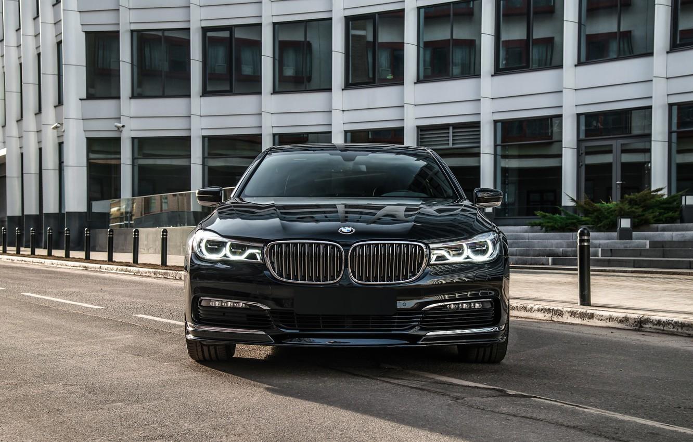 Фото обои BMW, Shark, LED, G12, 750 Li, Frond