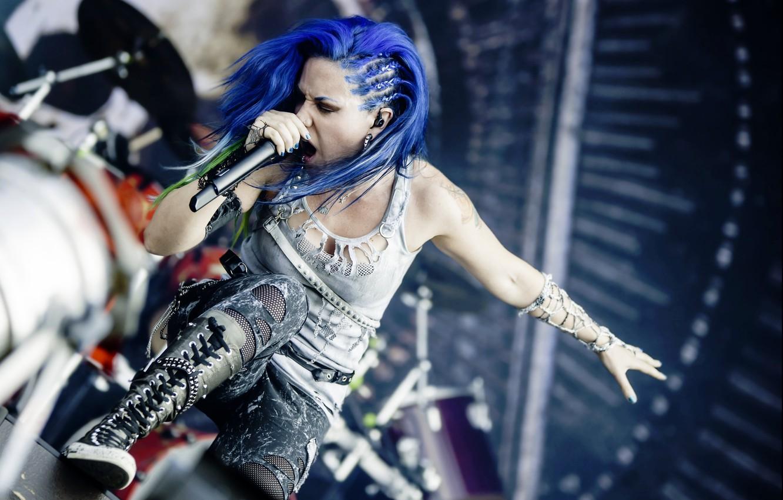 Фото обои singer, Arch Enemy, Alissa White-Gluz