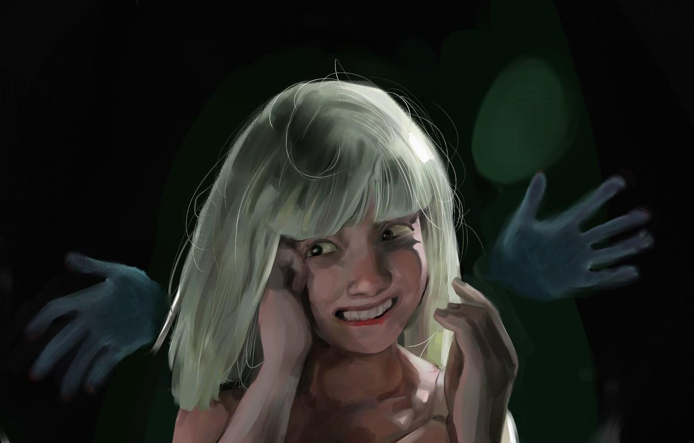 Фото обои art, Maddie Ziegler, sia, big girls cry