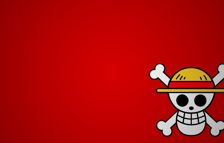 Фото обои skull, One Piece, hat, anime, manga, japanese, Luffy, Monkey D. Luffy, straw hat, kaizouku, straw …