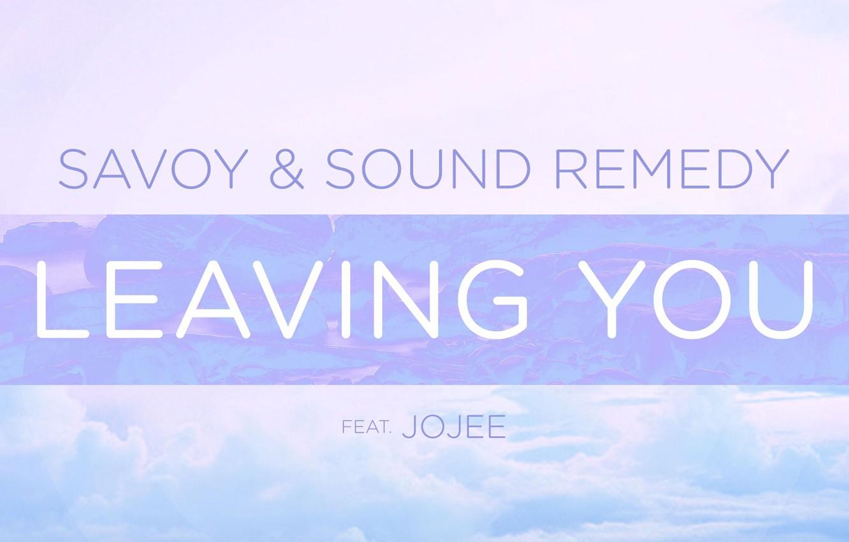 Фото обои Music, Cover, Monstercat, Leaving You, Jojee, Savoy & Sound Remedy