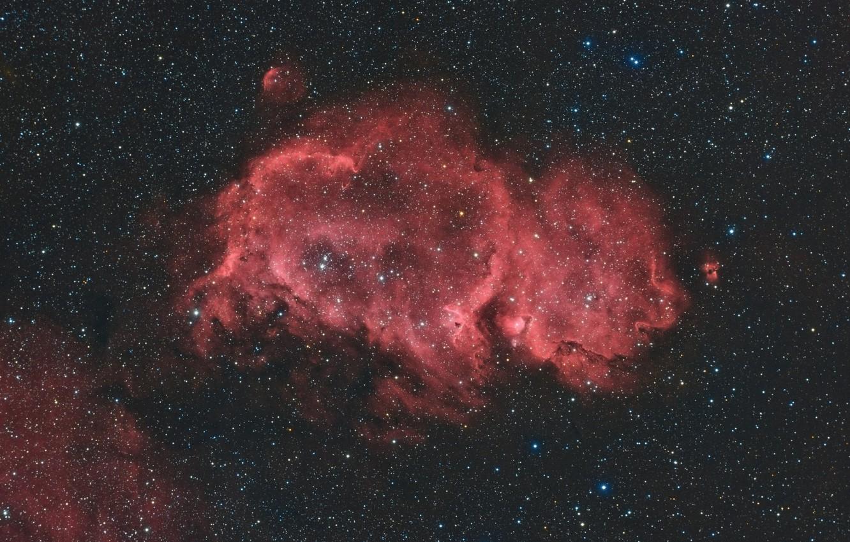 Фото обои космос, звезды, Soul Nebula