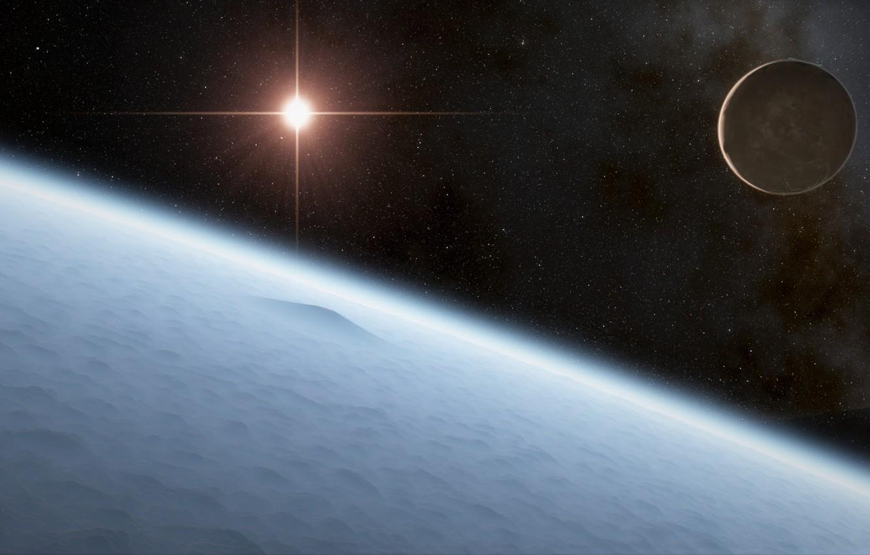 Фото обои planet, sci fi, Asteroids