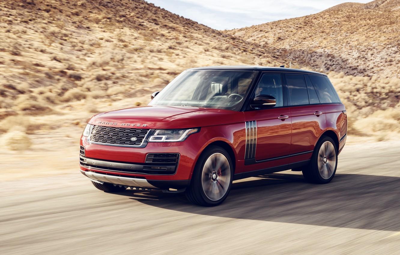 Фото обои Land Rover, Range Rover, 2018, Dynamic, SVAutobiography