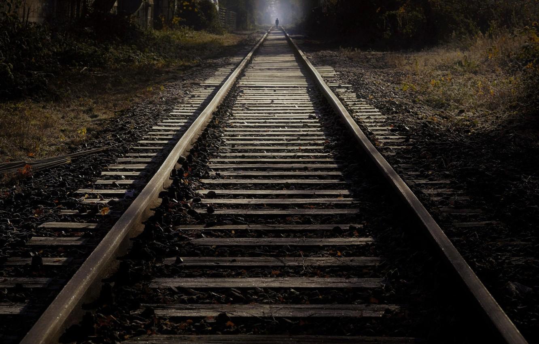 Обои ночь, Железная дорога. Разное foto 12