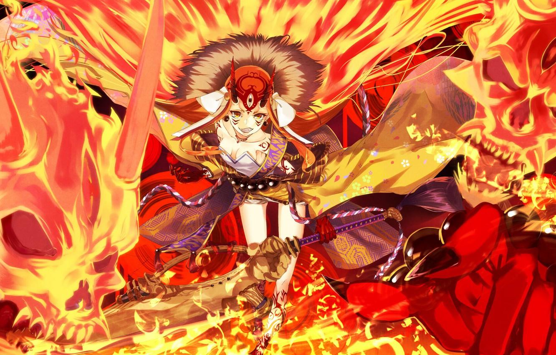 Фото обои девушка, аниме, арт, Fate Grand Order, grand order