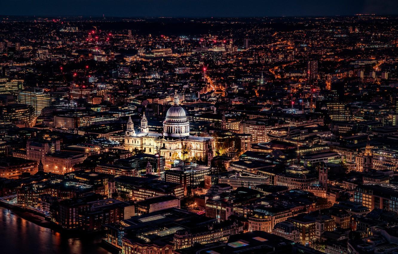 Обои ночь, london. Города foto 7