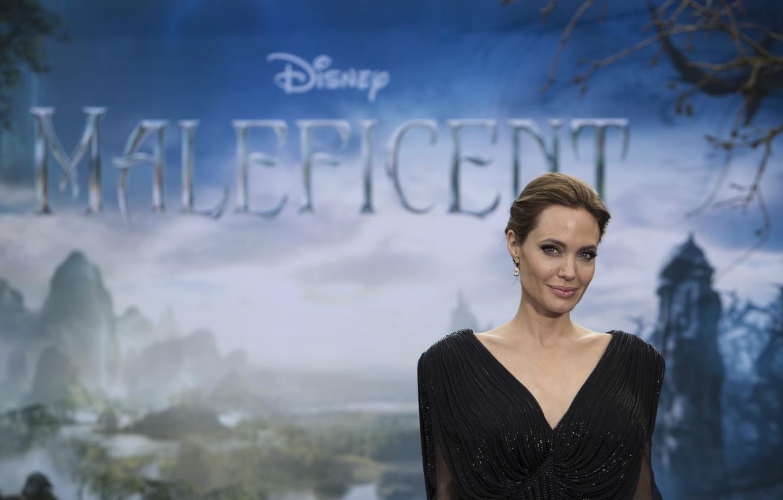 Фото обои актриса, Angelina Jolie, знаменитость, Maleficent, Малефисента