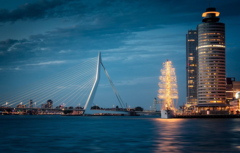 Фото обои Голландия, Роттердам, Rotterdam, Нидеоланды