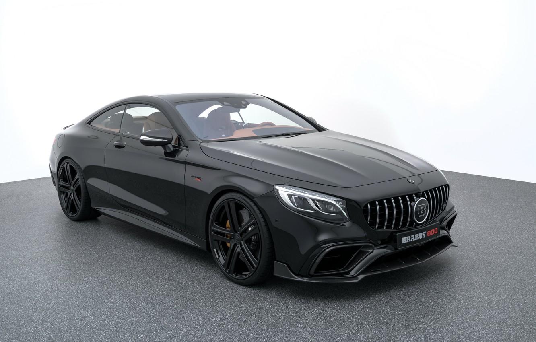 Фото обои купе, Mercedes, мерседес, AMG, brabus, Coupe, S-Class, C217