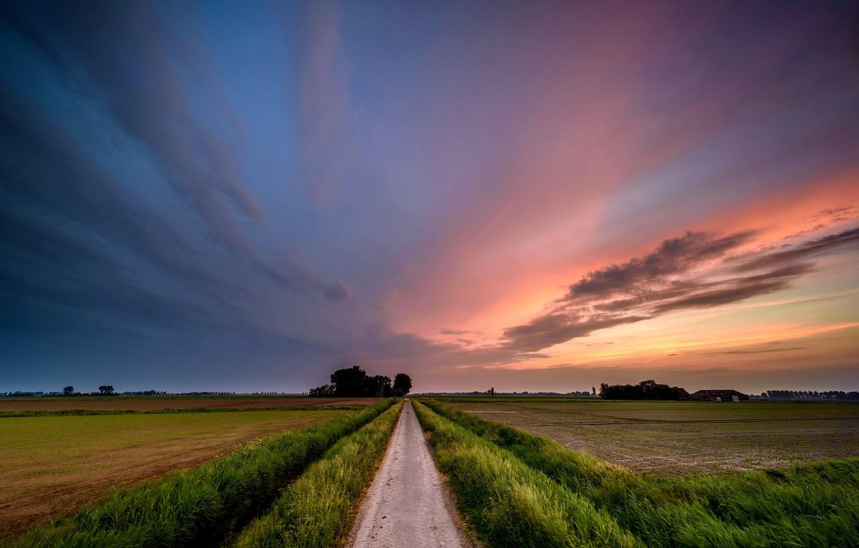 красивые картинки небо и дорогами вернулся бретани