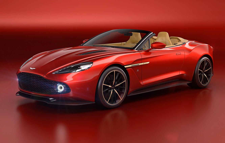 Фото обои Aston Martin, купе, спорт-кар, Vanquish