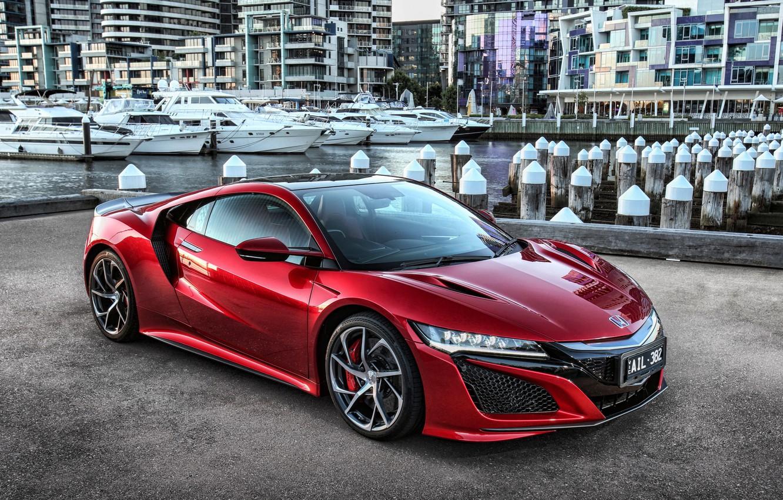 Фото обои суперкар, Honda, хонда, NSX
