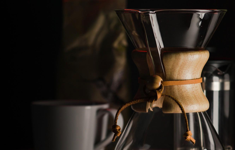 Фото обои кофе, кружка, кофеварка