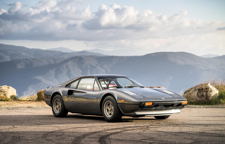 Фото обои Ferrari, суперкар, феррари, 308, 1976