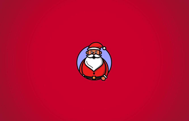 Фото обои новый год, санта клаус, Дед Мороз