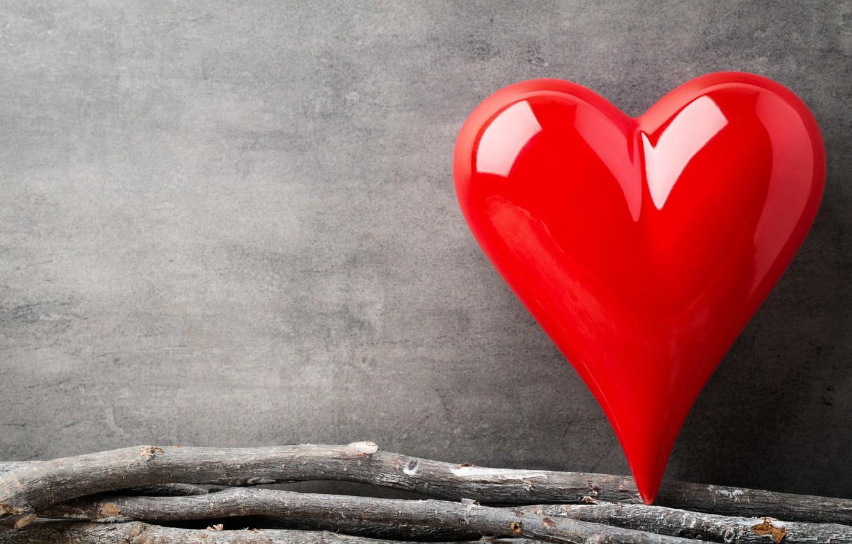 Фото обои любовь, ветки, сердце, red, love, heart, wood, romantic