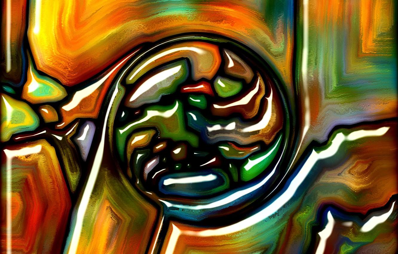 Фото обои colors, colorful, abstract, витраж, rainbow, background, painting, краски сохранить