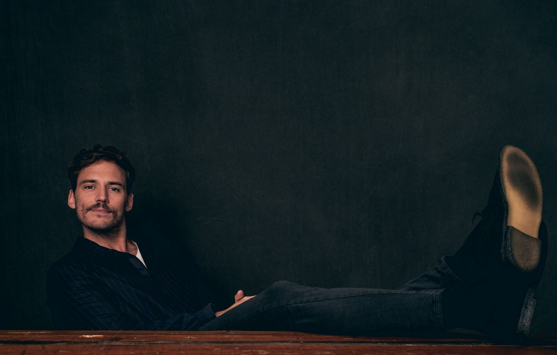 Фото обои поза, актер, Sam Claflin