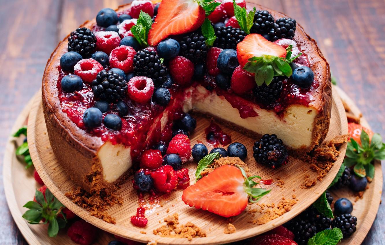 окончания чизкейк со свежими ягодами рецепт с фото довольно