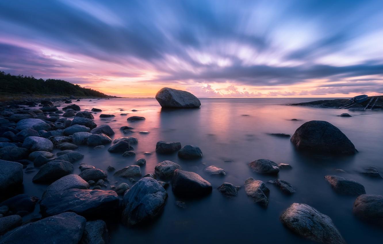 Фото обои камни, Норвегия, Norway, Arendal, Tromøy