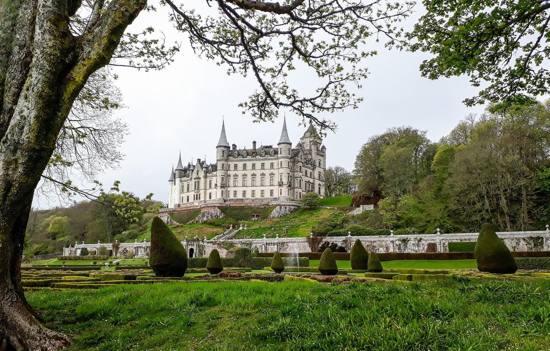 Обои scotland, Шотландия, sutherland, Dunrobin, замок. Города foto 17