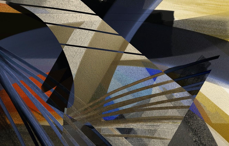 Фото обои фон, цвет, форма