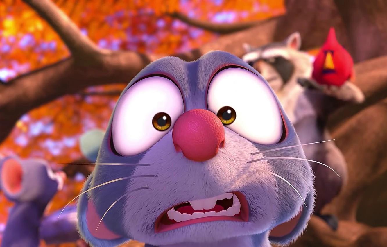 Фото обои мультфильм, кадр, персонажи, снимок, роль, The Nut Job 2