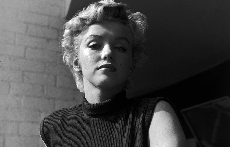 Фото обои взгляд, лицо, модель, актриса, блондинка, Мэрилин Монро, Marilyn Monroe