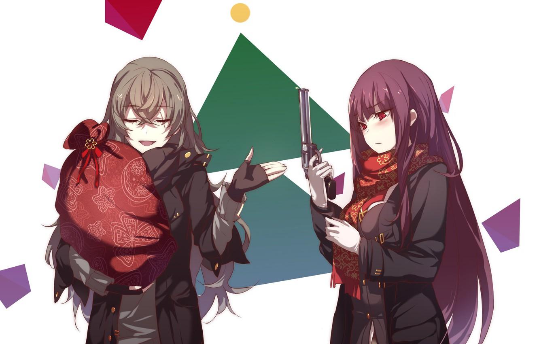 Фото обои оружие, девушки, аниме, арт, Girls Frontline