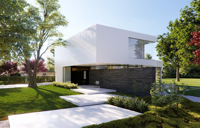 Фото обои дизайн, строение, Villa Aries