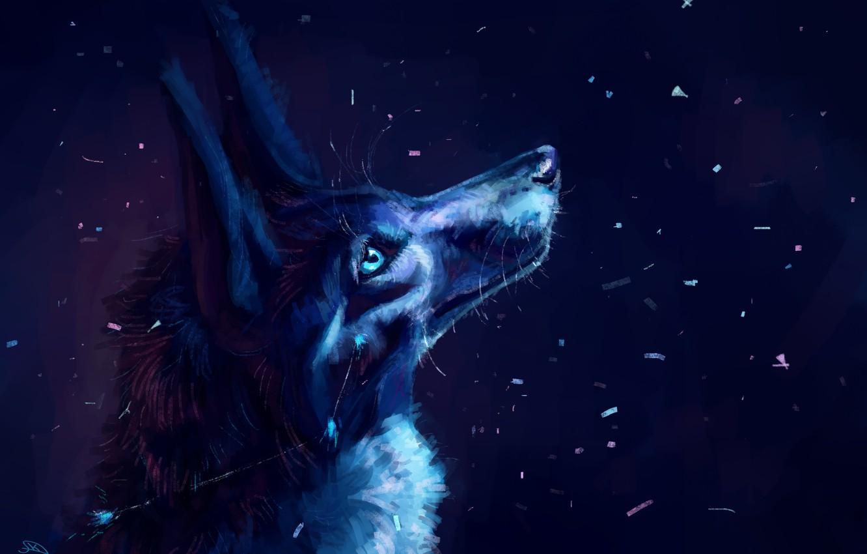 полотне схимник картинки волков ночью что первоначально