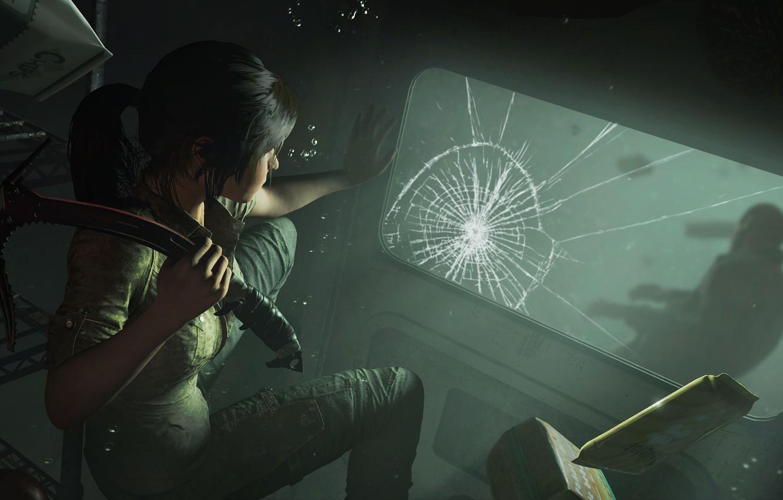 Фото обои волосы, Tomb Raider, Лара Крофт, Shadow of the Tomb Raider