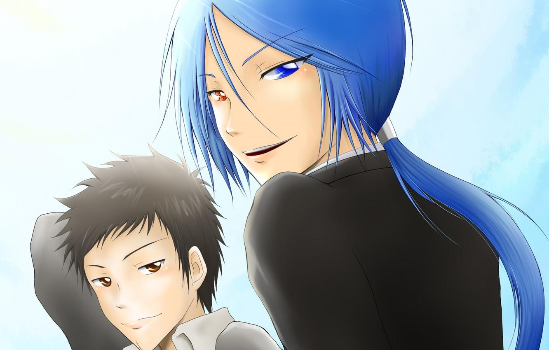 Фото обои аниме, арт, парни, Rokudou Mukuro, Katekyo Hitman REBORN!, Yamamoto Takeshi