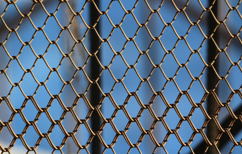 Обои забор, сетка. Разное foto 7