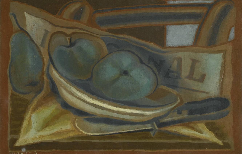 Фото обои Яблоки, 1924, Хуан Грис, Кубизм