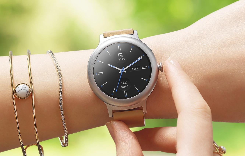 Фото обои style, woman, watch, bracelet, MWC 2017, LG Watch Style