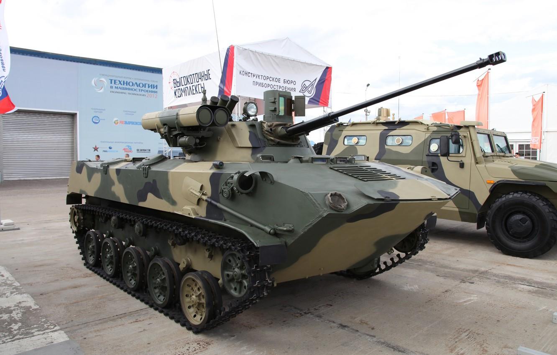 Фото обои Россия, ВДВ, Боевая Машина Десанта, Модернизированная, БМД-2М