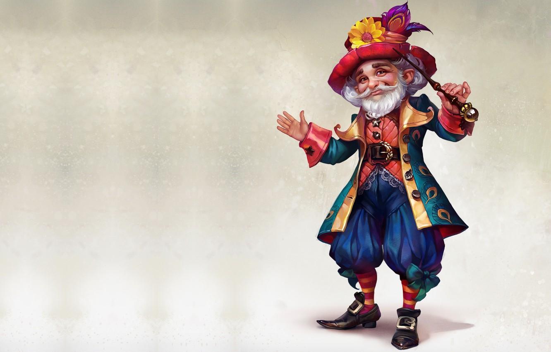 Фото обои игра, арт, маг, чародей, волшебник, Верность - Рыцари и принцессы, Valeria Styajkina, 2d