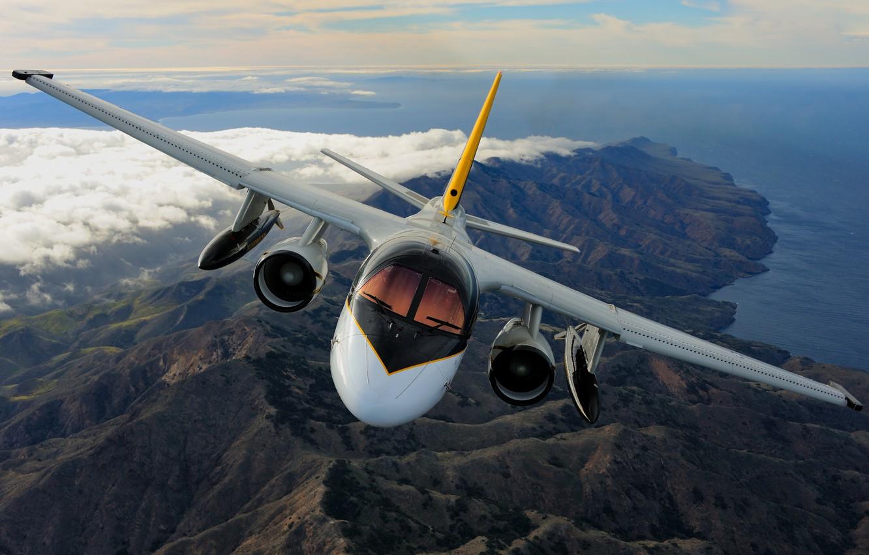 Обои Самолёт, fighting falcon, вираж, истребитель, Пейзаж. Авиация foto 15