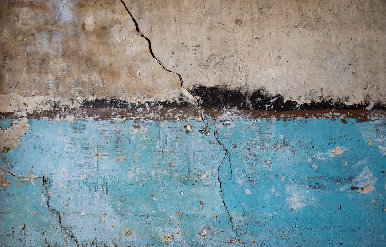 Фото обои фон, стена, трещина