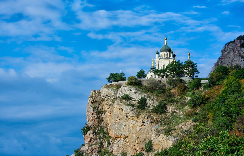 Обои Форосская церковь, Крым. Города foto 11