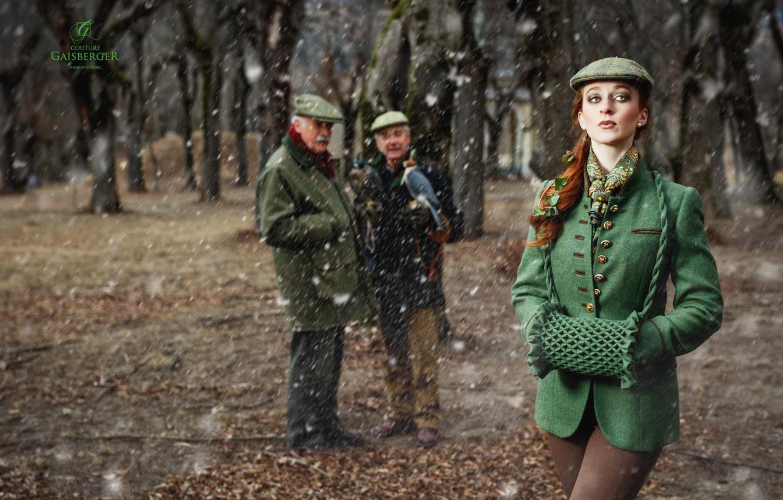 Фото обои девушка, стиль, Viktoria Pirker