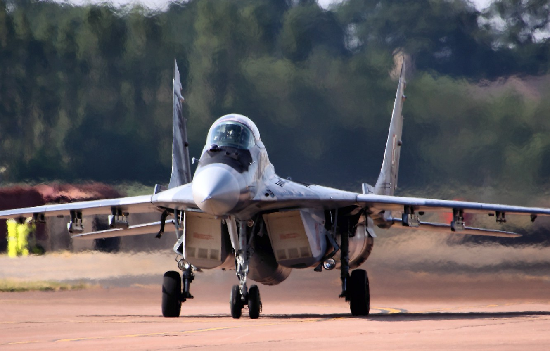 Обои МиГ-29М, ВВС Польши, многофункциональный истребитель. Авиация foto 9