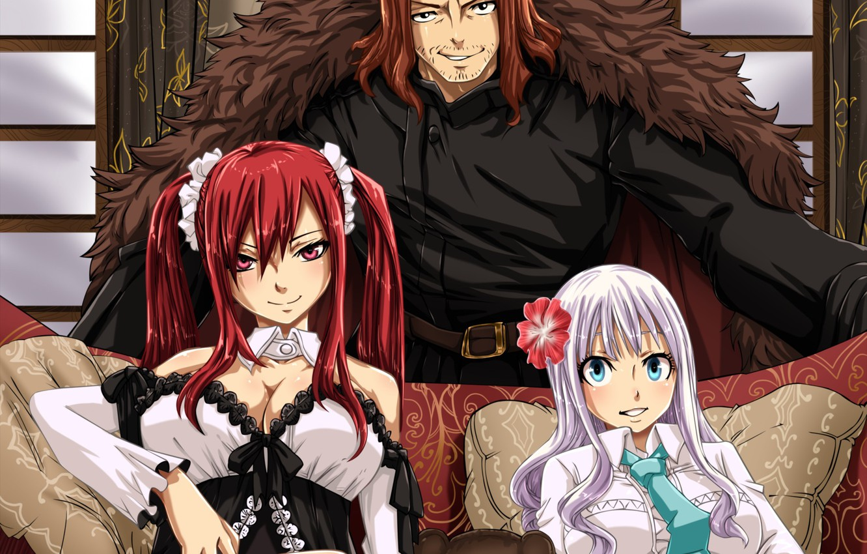 Фото обои game, anime, asian, manga, japanese, Fairy Tail, oriental, asiatic, mahou, 006
