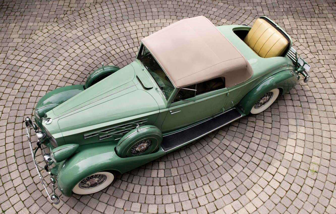 Фото обои Coupe, Twelve, Packard, 1936